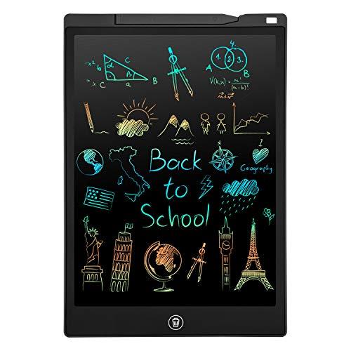 PINKCAT LCD Schreibtafel, 12 Zoll Bunte Bildschirm Schreibtablett, löschbarem Handschrift Block,...