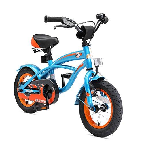BIKESTAR Premium Sicherheits Kinderfahrrad 12 Zoll für Jungen ab 3-4 Jahre | 12er Kinderrad Cruiser |...