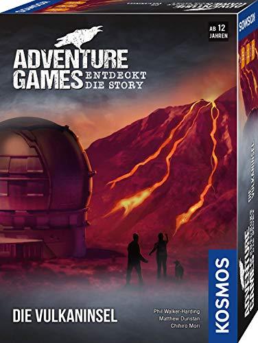 KOSMOS 693169 - Adventure Games - Die Vulkaninsel, Entdeckt die Story, Kooperatives Gesellschaftsspiel...