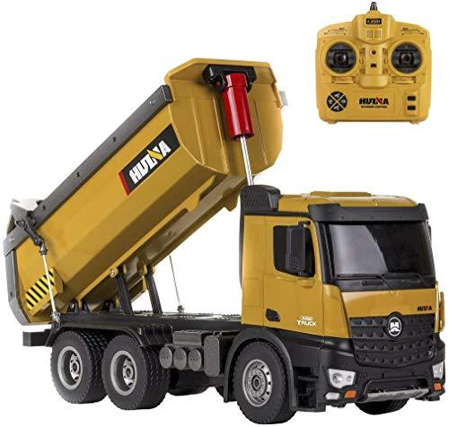 CELMAN Dumping Truck 1573 | 1:14 | Metal Kippaufbau | 10 Kanal Kipper | LKW RC Ferngesteuert |...