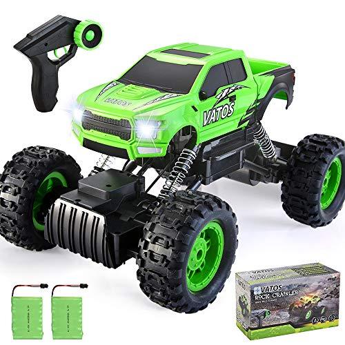 VATOS 1:12 RC Auto,Ferngesteuertes Auto Rock Crawler RC Autos Monster Truck Ferngesteuerter 4WD 2,4 Ghz...