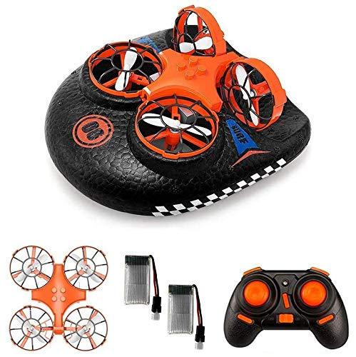 EACHINE E016F Boot Drohne Ferngesteuertes Boot Racing Hovercraft Abnehmbar Amphibious Vehicle Spielzeug...
