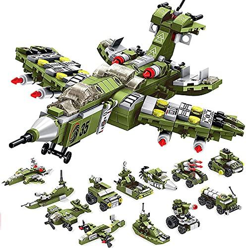 WIDELAND Bausteine Spielzeug 25-in-1STEM Konstruktionsspielzeug, 576PCS Gebäude Lernspielzeug ab 5 6 7 8...