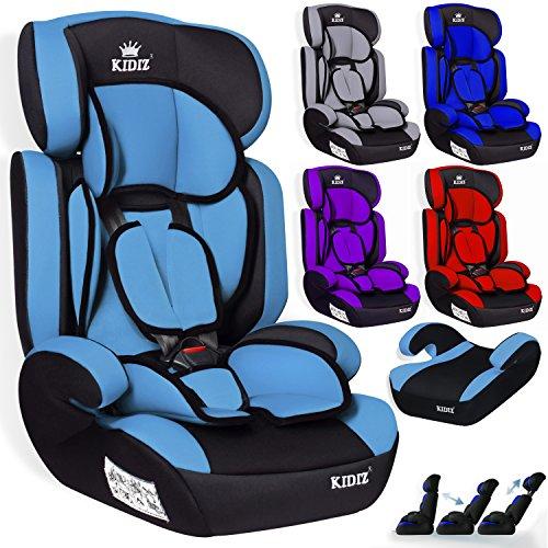 Kidiz® Autokindersitz Kinderautositz ✓ Gruppe 1+2+3 ✓ 9-36 kg ✓ Autositz ✓ Kindersitz | Stabil...
