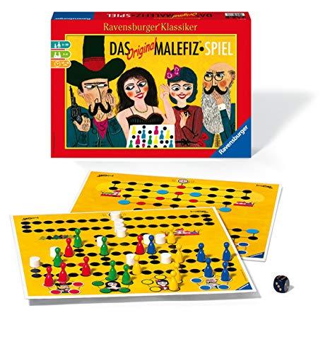 Ravensburger 26737 - Das Original Malefiz Spiel - Familienspiel für 2-4 Spieler, Ravensburger Klassiker...