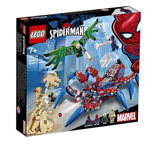 LEGO 76114 Super Heroes Spider-Mans Spinnenkrabbler (Vom Hersteller Nicht mehr verkauft)