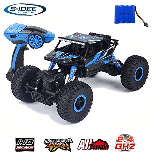s-idee® 18157 Rock Crawler HB-P1802 mit 2,4 GHz 4WD Buggy Monstertruck