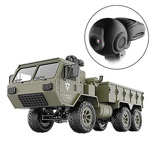 HSKB FY004A RC 2,4G Army Militär Fernbedienung Auto Truck Armee 1:16 6WD RC Buggy 720 P WiFi FPV HD...