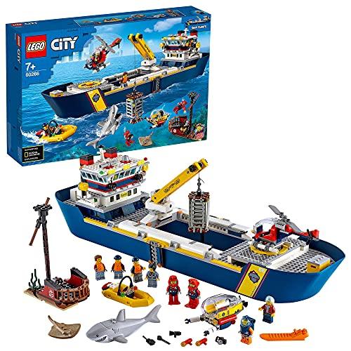 Spielzeug-Schiffsbauset 'Meeresforschungsschiff' von LEGO City