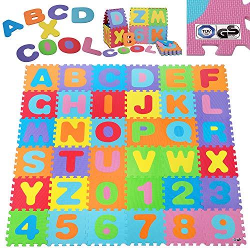 Deuba® 86 TLG Puzzlematte TÜV SÜD GS geprüft Kinderspielteppich Spielteppich Neues Modell 2021...