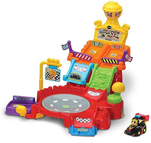 Vtech 80-514504 Tut Tut Baby Flitzer - Rennpiste, Babyautos, Mehrfarbig