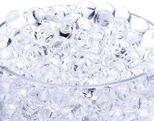 Miuezuth Wasserperlen für Pflanzen, Aquaperlen, Gel-Perlen Wassergel-Kugeln Dekoration für Hochzeit...