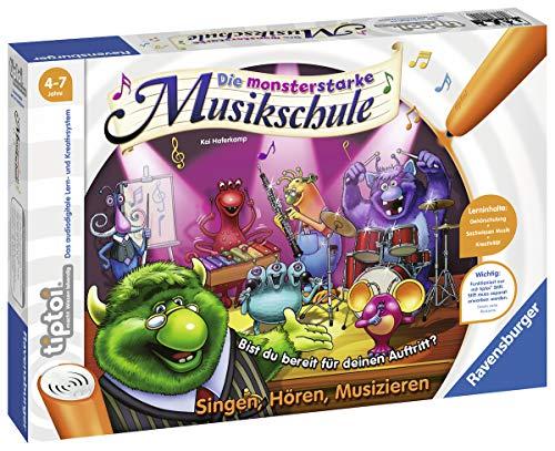 Ravensburger tiptoi Spiel 00555 Monsterstarke Musikschule - Lernspiel ab 4 Jahren,...