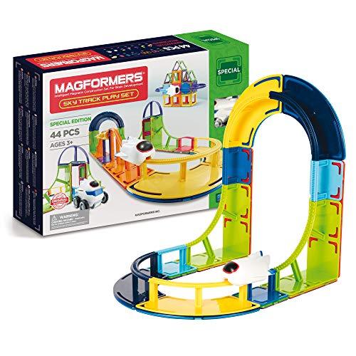 MAGFORMERS Magnetische Baussteine für Kinder ab 3 Jahre, Konstruktionsspielzeug Fuer Jungen und Mädchen...
