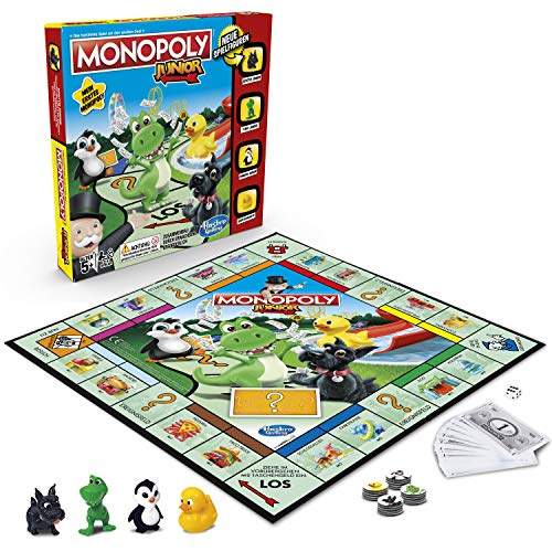 Hasbro Gaming A6984594 Hasbro Monopoly - Junior, der Klassiker der Brettspiele für Kinder,...