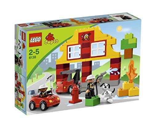 Spielzeug-Feuerwehrset 'Meine erste Feuerwehrstation' von LEGO duplo