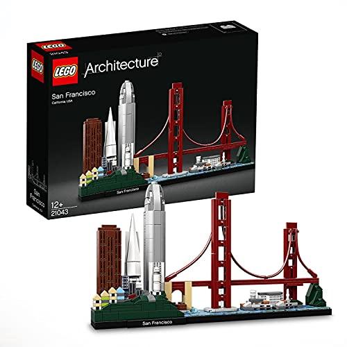LEGO 21043 Architecture San Francisco Modellbausatz für Erwachsene und Teenager, tolles Geschenk,...