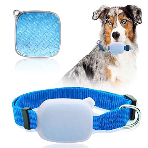 GreeSuit GPS-Tracker-Halsband für Haustiere, Katzen, Hunde, Tracker mit unbegrenzter Reichweite,...