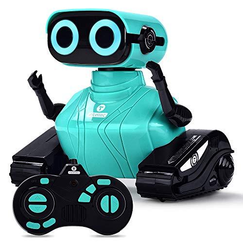 ALLCELE RC Roboter Kinder Spielzeug, Ferngesteuertes Auto Roboter Spielzeug mit Fernbedienung für Kinder...