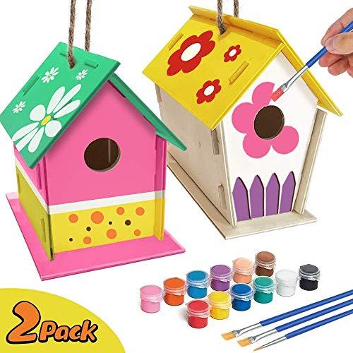 xinxintai basteln Bauen Kinder vogelhaus bausatz Kinderhandwerk Holz Kunsthandwerk für Kinder DIY...