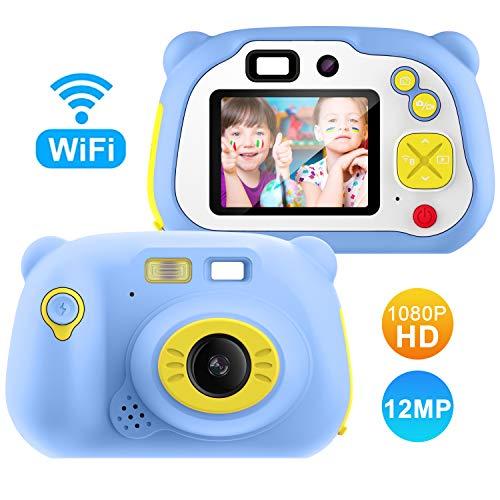 Lightswim Digitale Kamera für Kinder Robuste HD Kinderkamera 2,0 Zoll Farbdisplay 1200 Megapixel 1080p...
