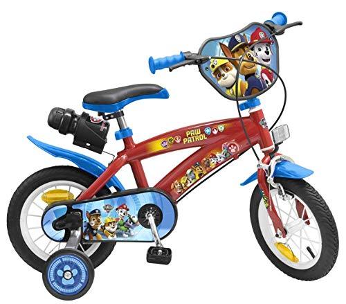 Unbekannt 12 Zoll Disney Kinder Jungen Disney Fahrrad Kinderfahrrad Jungenfahrrad Rad Bike Paw Patrol...