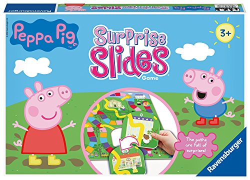 Ravensburger Peppa Wutz Surprise Slides Board für Kinder ab 3 Jahren und Up-A Race to The Finish Game...