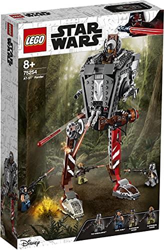Lego 75254 Star Wars at-ST-Räuber, Set mit abfeuerbaren Shootern und 4 Minifiguren, TV-Serie The...