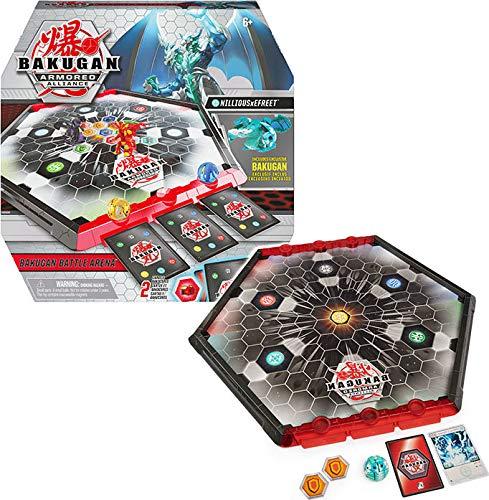 Bakugan Armored Alliance Battle Arena, umrandetes Spielfeld mit exklusivem Fusions-Bakugan