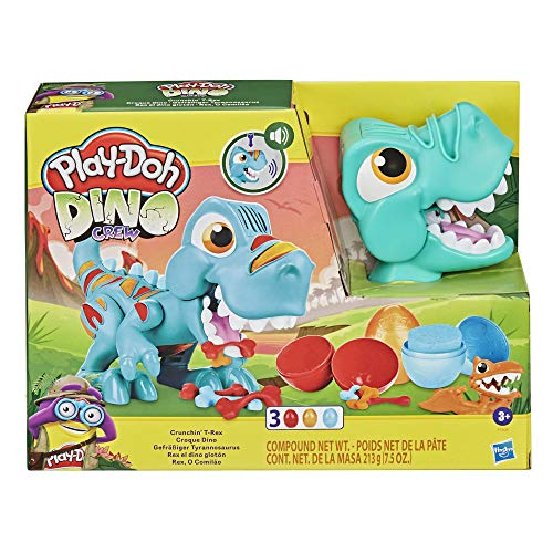 Play-Doh Dino Crew Gefräßiger Tyrannosaurus, Spielzeug für Kinder ab 3 Jahren mit lustigen...