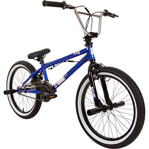 deTOX Rude 20 Zoll BMX Fahrrad Bike Freestyle Street Park Rad Modell 2019 Anfänger ab 140 cm 4 x Stahl...