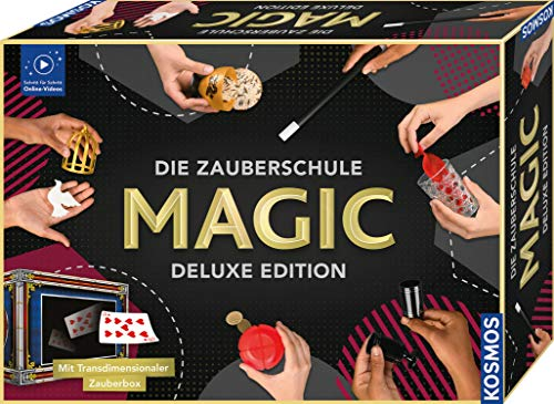 KOSMOS Die Zauberschule MAGIC Deluxe Edition, inkl. Transmediale Zauberbox, 111 Zauber-Tricks,...