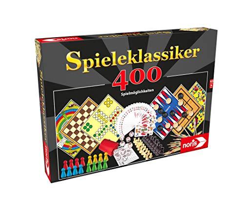 Noris 606111688 Spieleklassiker mit 400 Spielmöglichkeiten