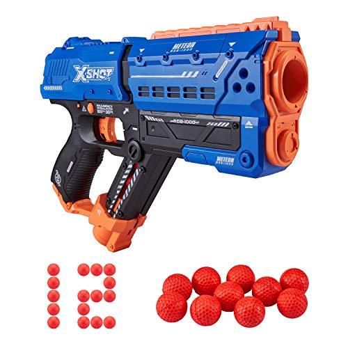ZURU X-Shot 36282 Meteor Blaster (12 Runden), blau