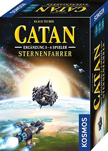 KOSMOS 680466 CATAN – Sternenfahrer, Ergänzung für 5-6 Spieler, Stategiespiel ab 12 Jahre, nur in...