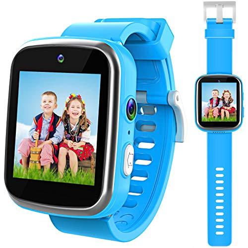 Kinder Smartwatch, Uhr Dual Kameras Armbanduhren für Jungen, Kleinkind Uhr Weihnachten Geburtstag...