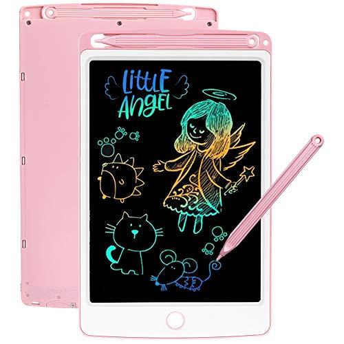 SCRIMEMO LCD Schreibtafel 8,5 Zoll Bunte hellere Schrift, LCD Writing Tablet Schreibtafel für Kinder,...