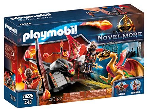 PLAYMOBIL Novelmore 70226 Burnham Raiders Kampftraining des Drachen, Für Kinder von 4-10 Jahren
