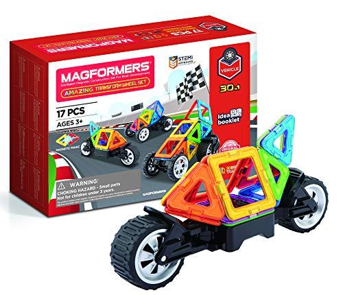 Unbekannt Magformers 707019 Transform Wheel Set, Multicolor, 26.2 x 18.2 x 8 cm