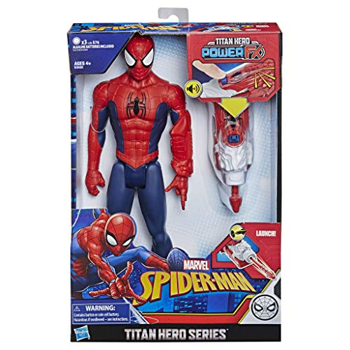 Spider-Man Titan Fx Power 2 (Spanische Version) (Hasbro E3552105)
