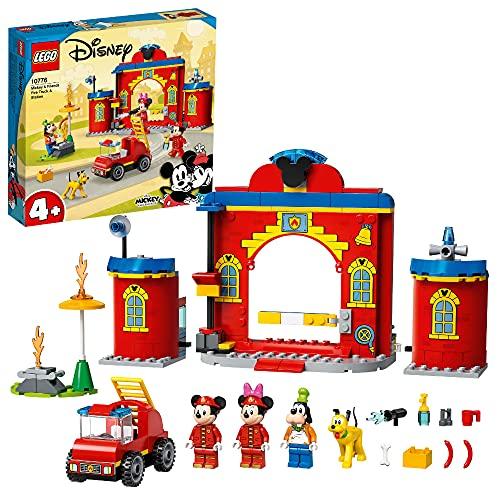 Feuerwehr-Spielzeug 'Mickys Feuerwehrstation und Feuerwehrauto' von LEGO Disney