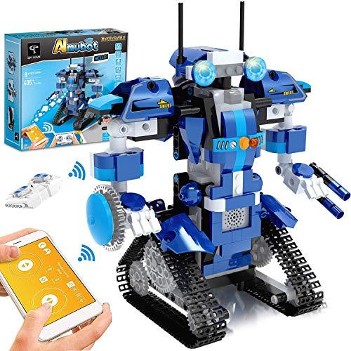 GP Toys Roboter Kinder Bausteine Spielzeug Programmierbar Ferngesteuert App-Gesteuertes STEM Technik...
