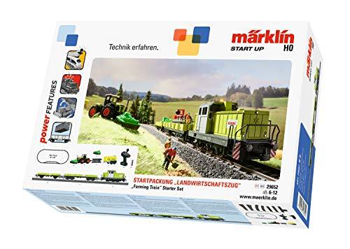 Märklin Start up 29652 - Startpackung Landwirtschaftszug, Spur H0 Modelleisenbahn, Startset mit Zug und...