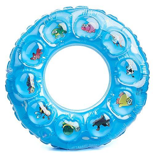 MOOKLIN ROAM Kinder Aufblasbarer Schwimmring, Schwimmtier Schwimmsitz mit verschiedenen Tier-Motiven...