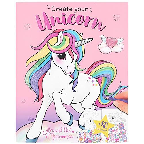 Depesche 10534 Malbuch Create your Unicorn, Ylvi und die Minimoomis