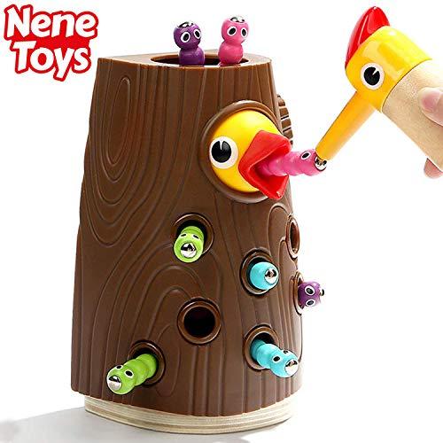 Nene Toys - Lernspielzeug für Jungen und Mädchen 2 3 4 Jahre Alt - Magnetisches Kinderspiel mit Farben...