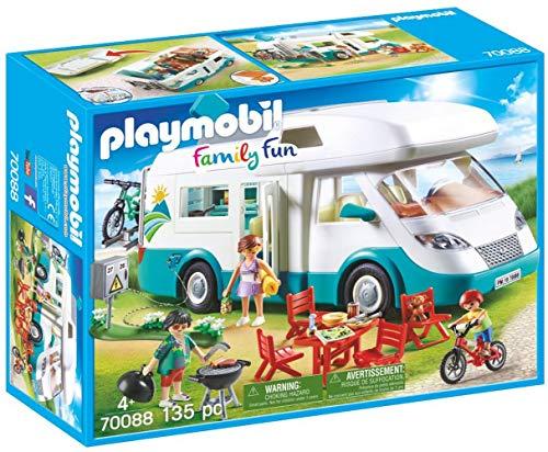 Playmobil Family Fun 70088 Familien-Wohnmobil, Ab 4 Jahren