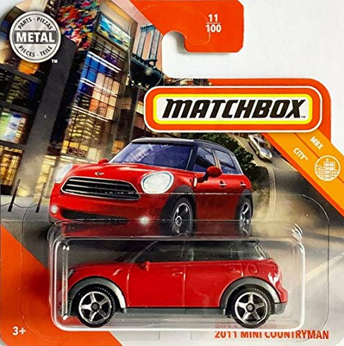 Matchbox* 2011 Mini Countryman - 1:64 - rot/schwarz