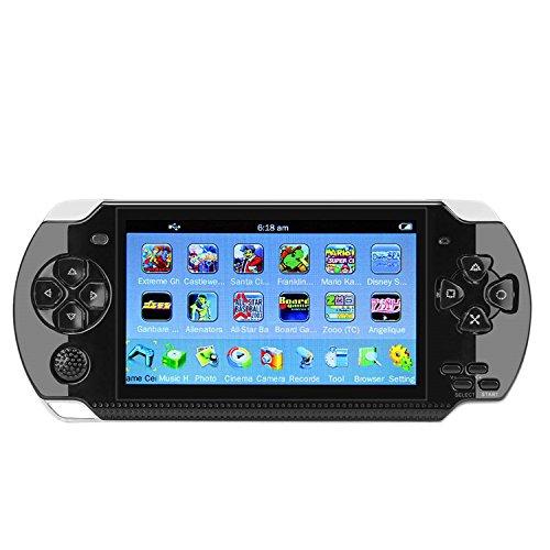 QUMOX 4,3 'Portable 8 GB 32Bit Handheld PSP Spielekonsole Player Eingebaute 100 Spiele