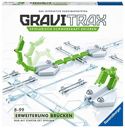 Ravensburger GraviTrax Erweiterung Brücken - Ideales Zubehör für spektakuläre Kugelbahnen,...